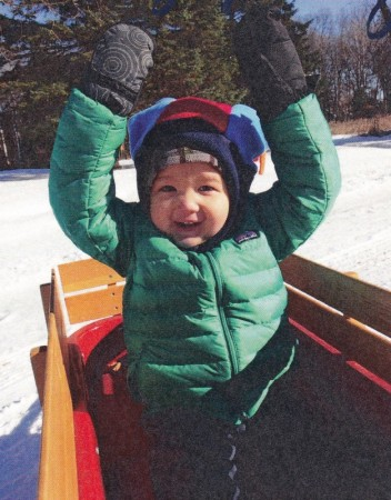 L Xmas sled 2014