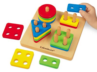 Lakeshore learning shape sort puzzle